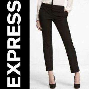 Black Express Editor Capri dress Pant! 6M